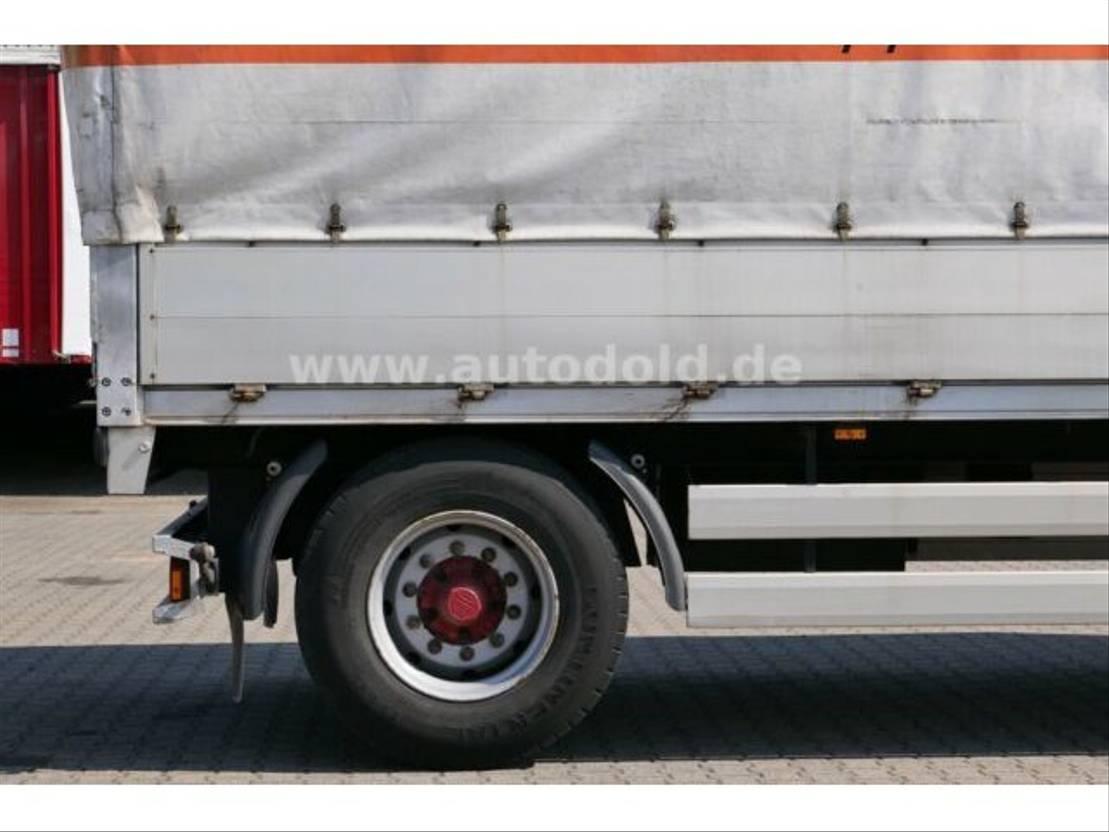 huifzeil aanhanger Meusburger Meusburger MPA-2 Pritsche Plane Portaltüren 2003