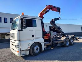 containersysteem vrachtwagen MAN TGA 26.430 6x2 container Euro3 2006