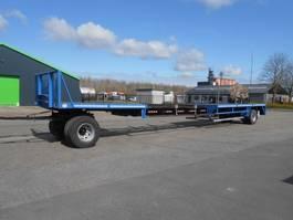 platte aanhanger vrachtwagen Lag Uitschuiver 15m50 2020