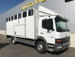 paardenvrachtwagen Mercedes Benz Atego 1218 2004