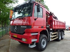 kipper vrachtwagen > 7.5 t Mercedes Benz 3340 Actros - 6x6 - CRANE TIRRE EURO131 1999