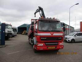 kipper vrachtwagen > 7.5 t DAF FAN LF55 2010