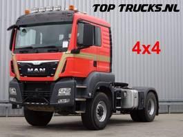zware last trekker MAN TGS 18.440 BLS 4x4 - NO Hydrodrive - manual gearbox! 2015