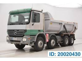 kipper vrachtwagen > 7.5 t Mercedes Benz Actros 3236 - 8x4 2006