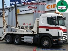 wissellaadbaksysteem vrachtwagen Scania 164 G 480 6x4 V8 Tele Retarder*Schaltgetriebe 2004