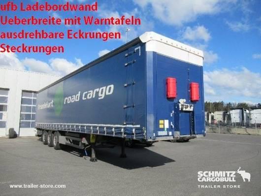 schuifzeil oplegger Schmitz Cargobull Schuifzeil Standard Hydr. laadklep 2018