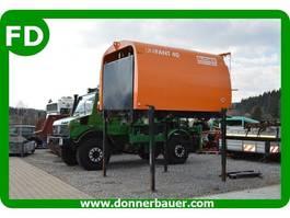 Veegmachine vrachtwagen Unimog Kehrmaschine UNIFANT 40 für Unimog U300, U400, UGN 2002