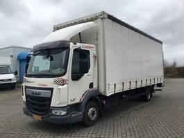 huifzeil vrachtwagen DAF Kun 165.000 kilometer LF45-220 2016