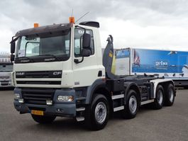 containersysteem vrachtwagen DAF CF 85.460 + MANUAL + HOOK SYSTEM 2009