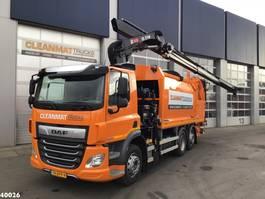 vuilniswagen vrachtwagen DAF FAN CF 340 Hiab 21 ton/meter laadkraan 2020