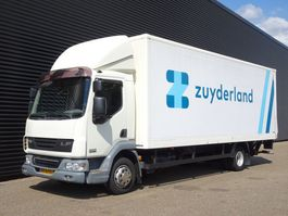 bakwagen vrachtwagen > 7.5 t DAF LF 45G12 / CLOSED-BOX TAIL-LIFT / LBW / EEV 2009