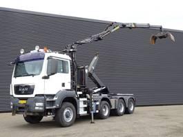 containersysteem vrachtwagen MAN TGS 38.440 / E5 / 8x6 / HOOKLIFT + Z CRANE 2010
