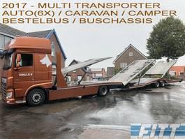 autotransporter vrachtwagen DAF FA XF440 MULTI TRANSPORTER 2017