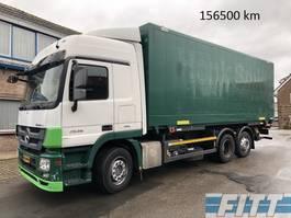 bakwagen vrachtwagen > 7.5 t Mercedes Benz ACTROS 2536 LTNLA 6x2 met gesloten bak en klep 2011