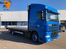 platform vrachtwagen DAF XF 95.430 Manual (10 Tires!) 2003