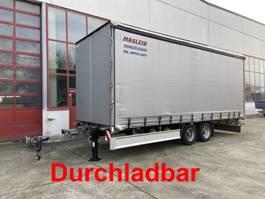 schuifzeil aanhanger Möslein TP 11-D Schwebheim  Tandem- Schiebeplanenanhänger zum Durchladen 2016
