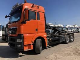 containersysteem vrachtwagen MAN TGX 26.440 6X2-4 BL-XLX Abroller-Lenk-Lift 2008