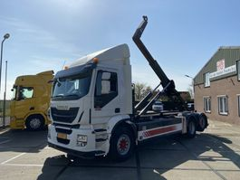 containersysteem vrachtwagen Iveco AD260SY/PS CNG   Retarder   VDL Hooklift   Manual 2015