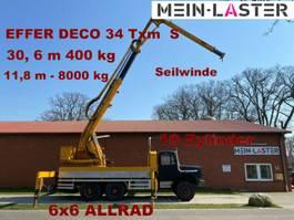 kraanwagen 256 D 26 AK 6x6 EFFER DECO 34  31 Meter 400 kg