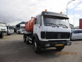 tankwagen vrachtwagen Mercedes Benz 2222 6X2 13.000 LITER FULLSTEELSUSPENSION 1986
