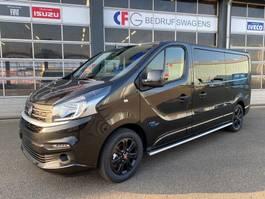 gesloten bestelwagen Fiat Talento Pro Line Edition DubCab 170 L2H1 Zwart Euro 6 4257 2020