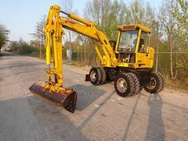 wielgraafmachine unkauf KMB770 8 ton banden kraan wielkraan graafmachine