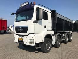 kipper vrachtwagen > 7.5 t MAN TGS 37.440 8X4 GEISOLEERDE ASFALTKIPPER 2009