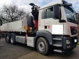 kipper vrachtwagen > 7.5 t MAN TGS 26.460 6x2-4 FNL Kipper+ FASSI F255A2.24 XE 2019