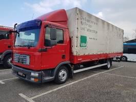 huifzeil vrachtwagen MAN TGL 7.150 Pritsche 7.15m / manuelles Getriebe 2008