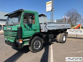 kipper vrachtwagen > 7.5 t Scania 113 380 Full Steel - Mech pump - 6 cylinder 1992