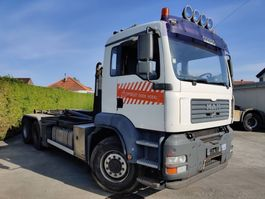 containersysteem vrachtwagen MAN 26-390 FD 6X4 TGA + PALLIFT HOOK 20 TON 2007