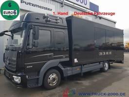 autotransporter vrachtwagen Mercedes-Benz 823 Mersch Geschlossener Autotransporter Euro 6 2013