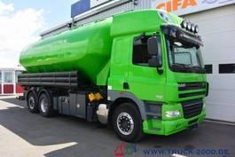 kolkenzuiger vrachtwagen DAF CF85.510 31m³ Pellets Silo + Waage Staub Riesel 2011