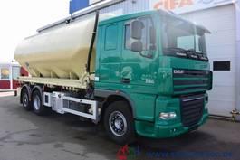 tankwagen vrachtwagen DAF XF105.410 Feldbinder Silo Staub & Riesel 32 m³ 2010