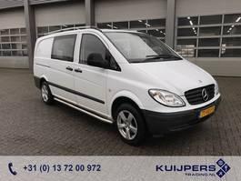 gesloten bestelwagen Mercedes Benz Vito 109 CDI // Dubbel Cabine  // Trekhaak // Cruise Controle // APK TÜV 2007
