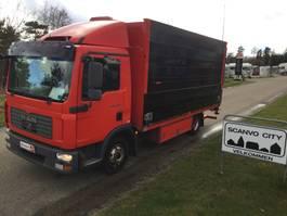 bakwagen vrachtwagen > 7.5 t MAN TGL 12.180 BL 2008