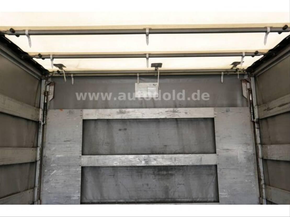 huifzeil aanhanger Diversen Galliker Pritsche Plane Bordwände Durchlade LBW 2007