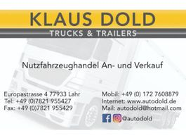 bakwagen vrachtwagen > 7.5 t Mercedes Benz Actros 1841 Koffer LBW Klima 2010