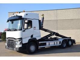 containersysteem vrachtwagen Renault T380  6X2    CONTAINER SISTEEM - CONTAINER HAAKSISTEEM -SYSTEME CONTENAIR 2015