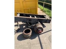 Achteras vrachtwagen onderdeel Scania sleepas bladgeveerd /dubbellucht/cilinder