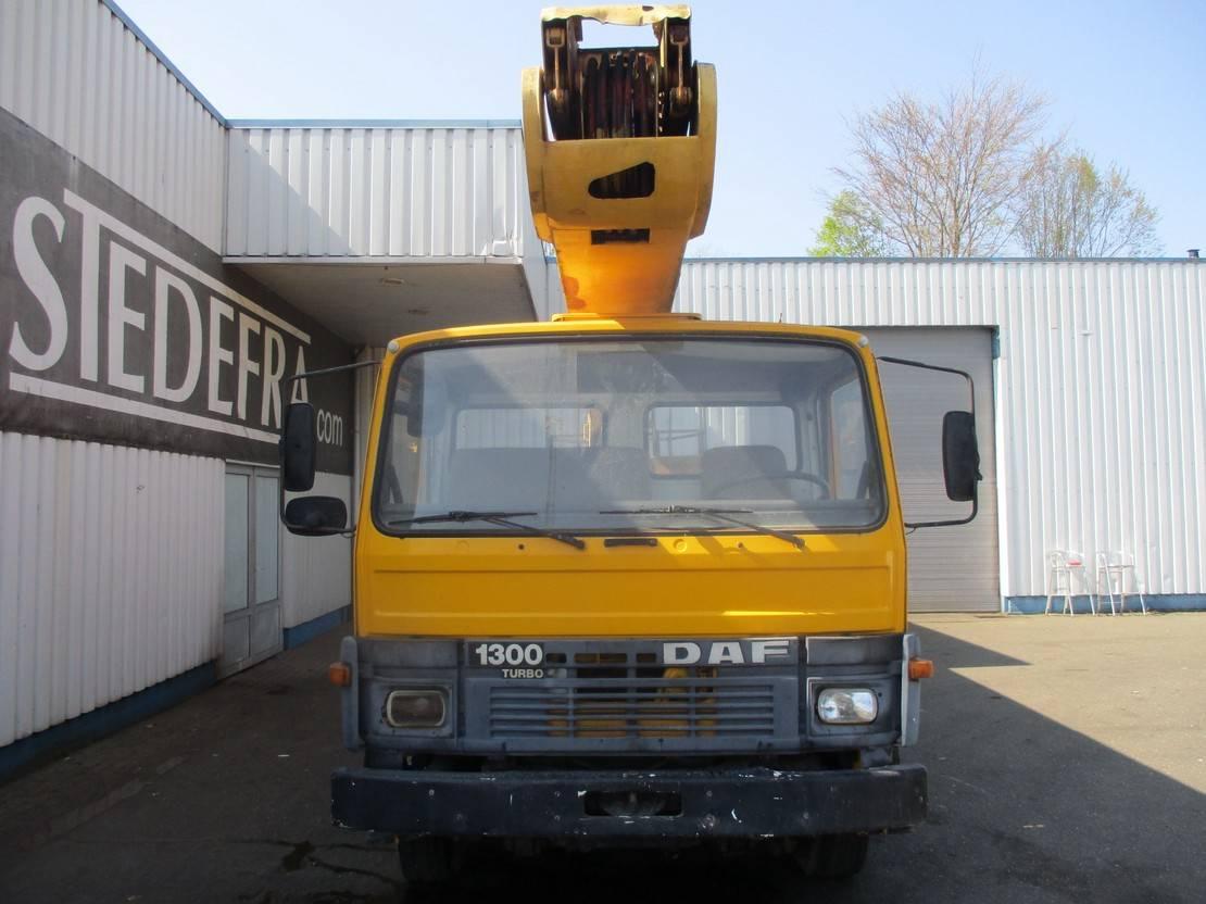 autohoogwerker vrachtwagen DAF 1300 Turbo , Bucket Truck 1991