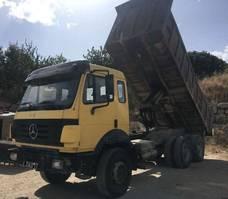 kipper vrachtwagen > 7.5 t Mercedes Benz 2435 6X4 Big Axles 1992