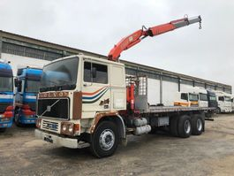 wissellaadbaksysteem vrachtwagen Volvo F12-25 Full Steel Suspension 1980