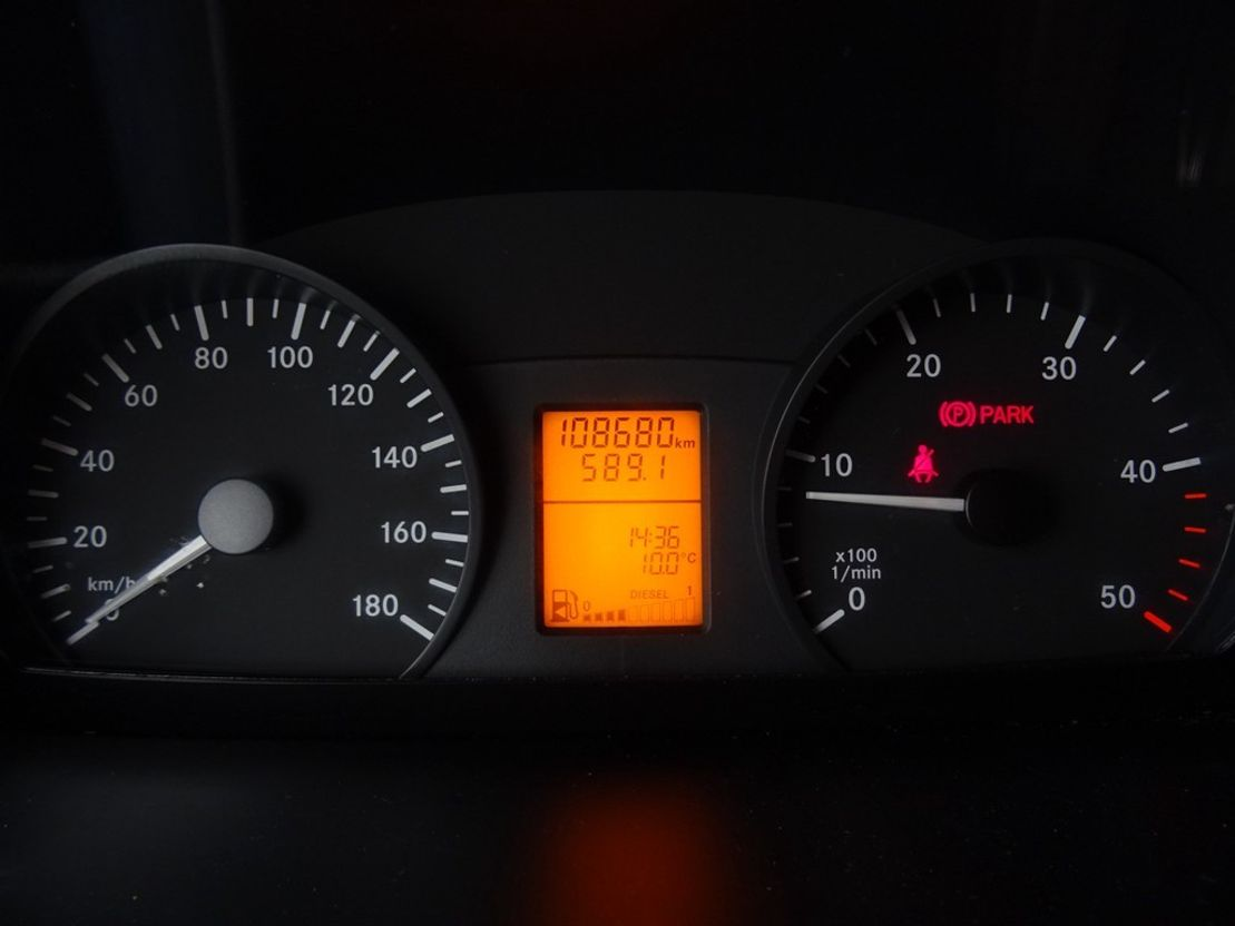 koelwagen bestelwagen Mercedes Benz Sprinter 316 CDI L2-H2 Koel/vries Dag/Nacht 2016