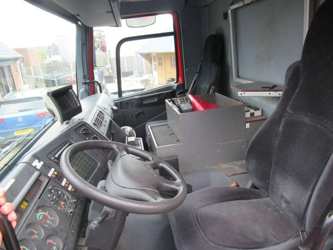 brandweerwagen vrachtwagen DAF CF 75 290 4x4 Euro 3 + generator + palfinger + Rotzler 2002