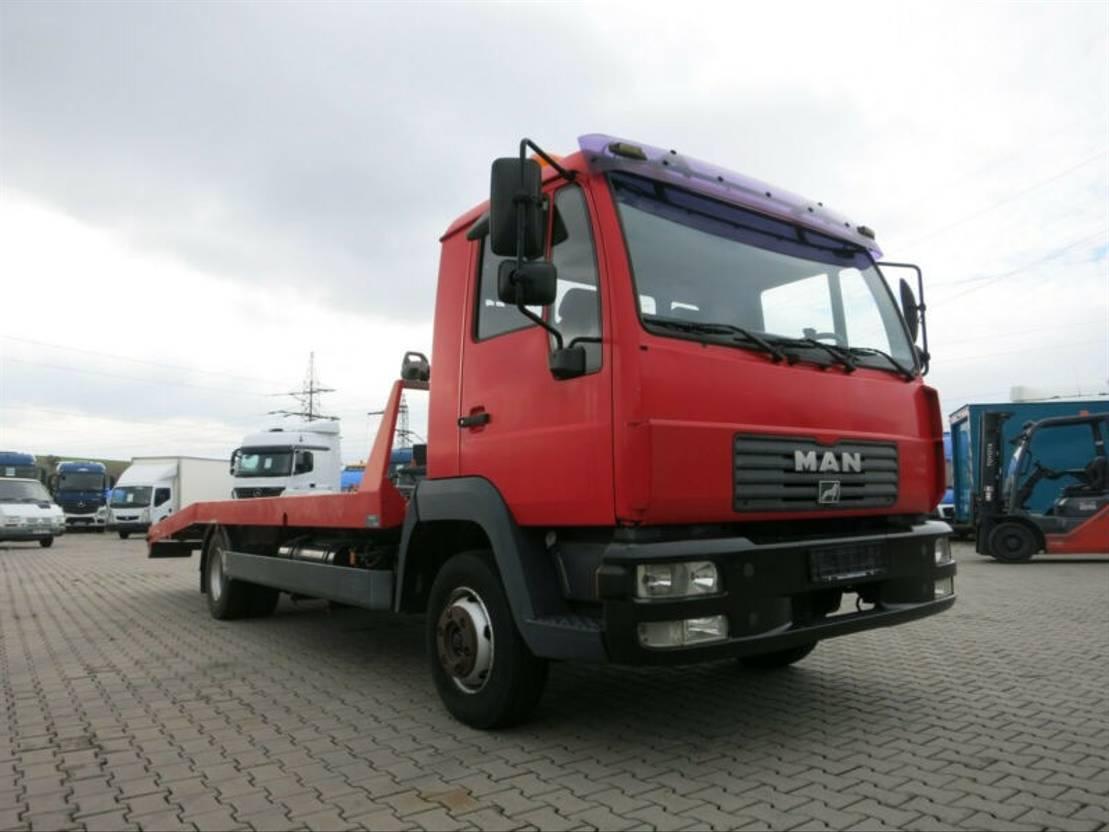 takelwagen bedrijfswagen MAN L 8.180