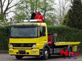takelwagen-bergingswagen-vrachtwagen Mercedes Benz Atego 1222 TOWTRUCK CRANE BRILLE WINDE 2007
