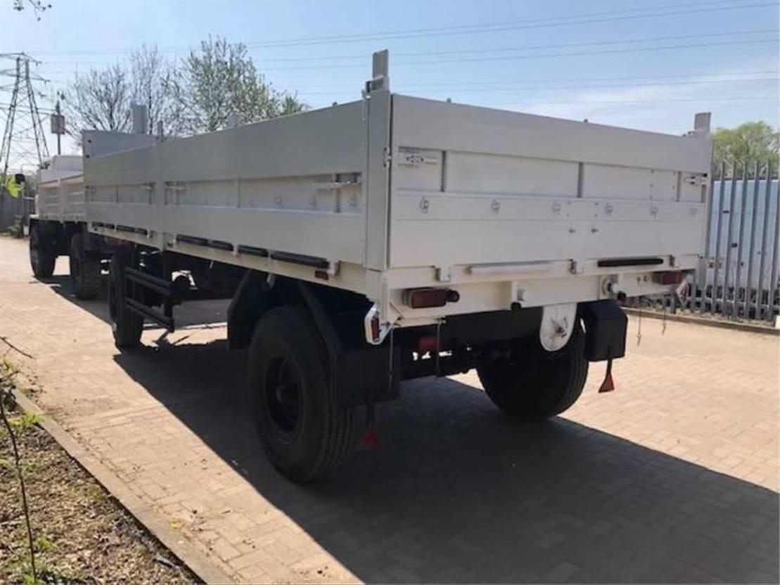 leger vrachtwagen DAF Leyland DAF 4x4 Cargo Truck Ex-Military & Schmitz 10 Ton Draw Bar Drop Side 1994