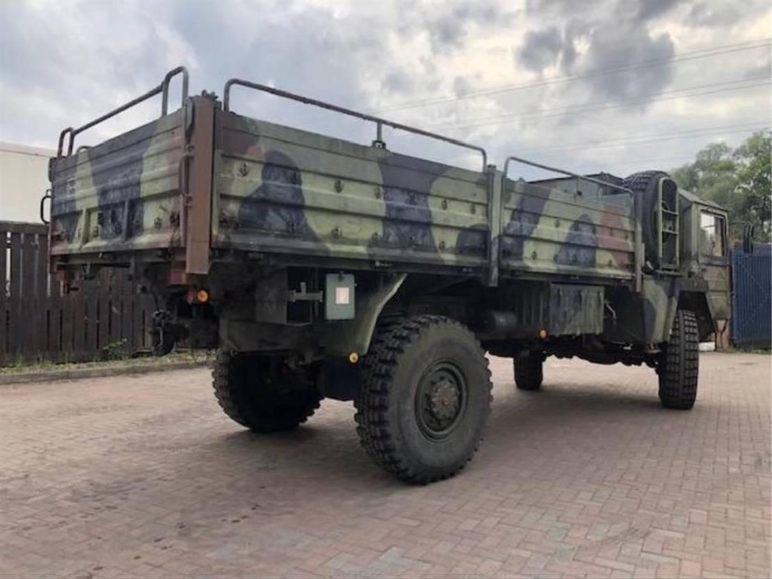 leger vrachtwagen MAN MAN KAT 1 4x4 Truck Ex Army 1980