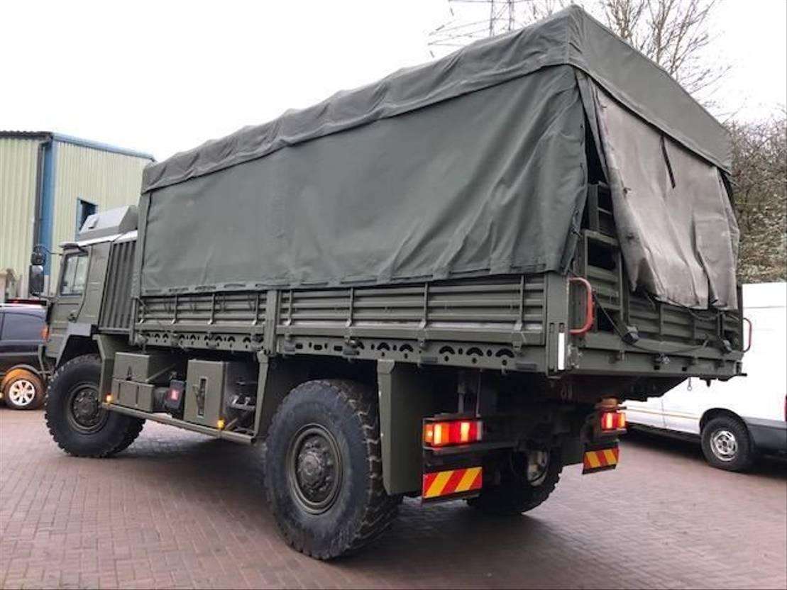 leger vrachtwagen MAN MAN HX 4x4 Truck Ex army (MAN KAT 1 4x4) 2007